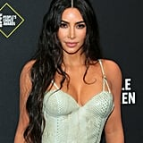 Kim Kardashian in Versace at the People's Choice Awards 2019