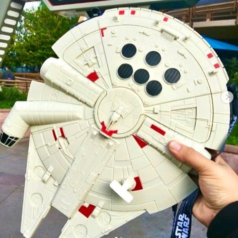 Disneyland's Millennium Falcon French Fry Bucket Is Here!