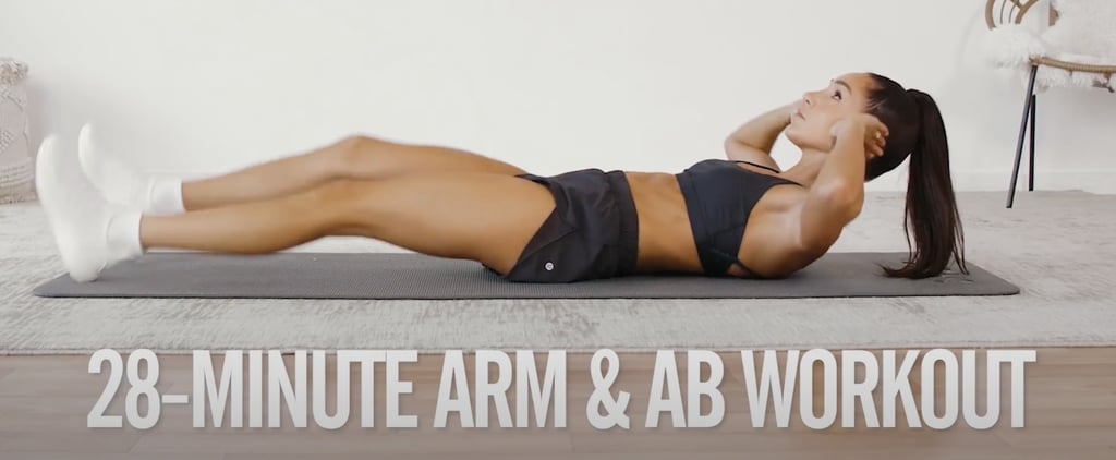 4-Week No-Equipment Workout Plan Weeks 2 & 4: Arms & Abs