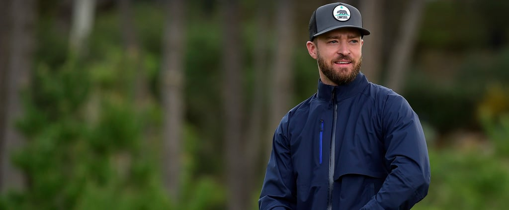Justin Timberlake Brings His Sexy Smirk to the Golf Course
