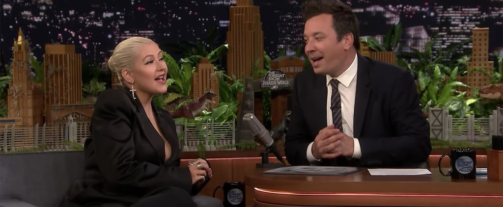 Christina Aguilera Tonight Show Interview About PJ Masks