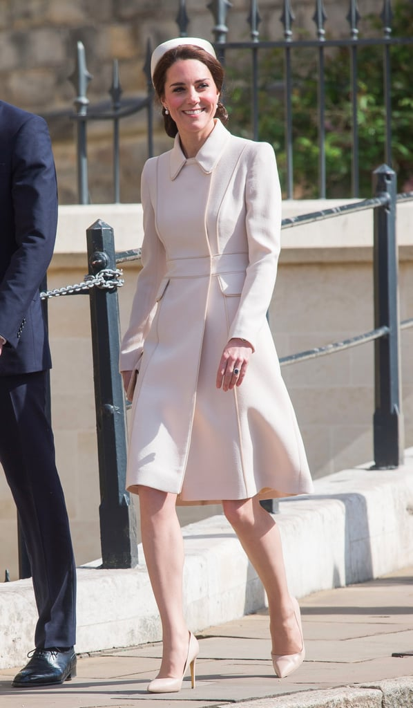 Kate Middleton Catherine Walker Coat on Easter