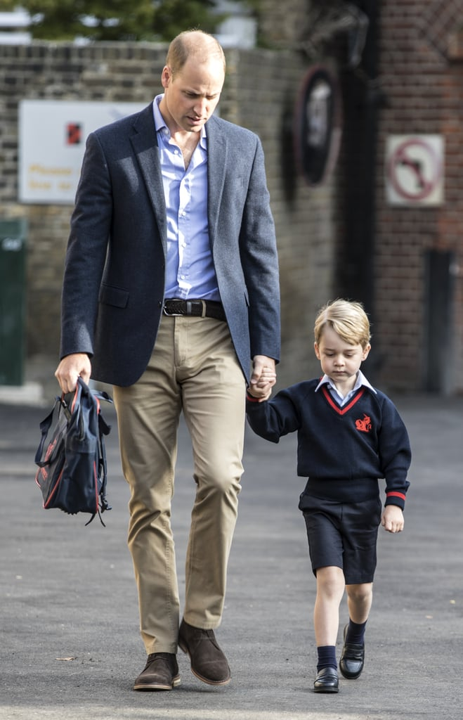 Prince George's First Day of School