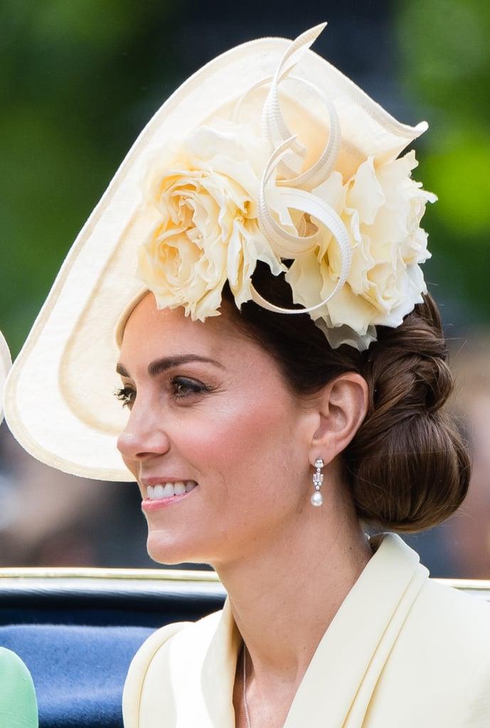 Kate Middleton's Shapely Side Bun, 2019