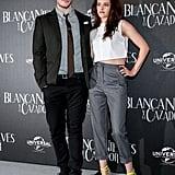 Kristen Stewart and Sam Claflin in Mexico.