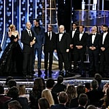 The Cast of Succession at the Golden Globes