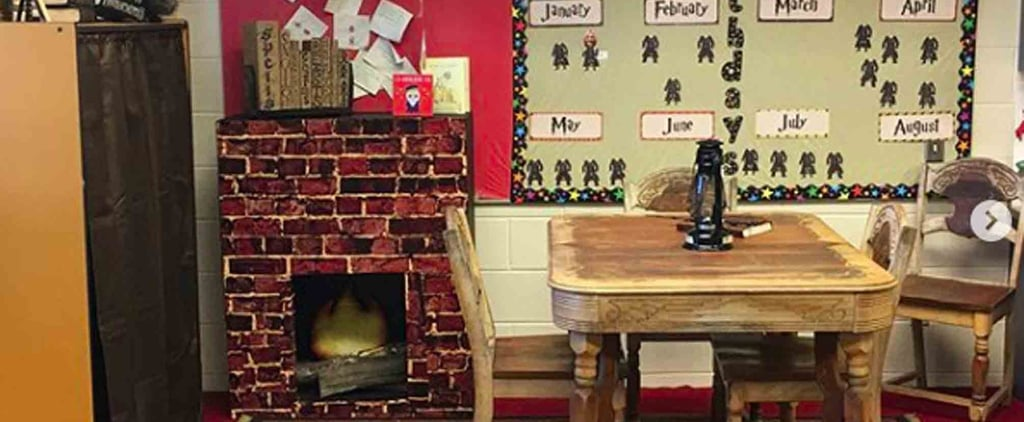 Teacher Makes Harry Potter-Themed Classroom
