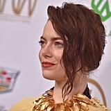 Emma Stone Brunette Hair January 2019
