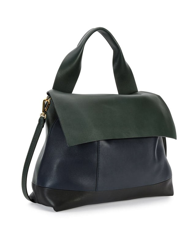 Marni Colorblock Satchel Bag w/Strap ($2,260)