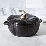 Black Cast Iron Pumpkin Cocotte