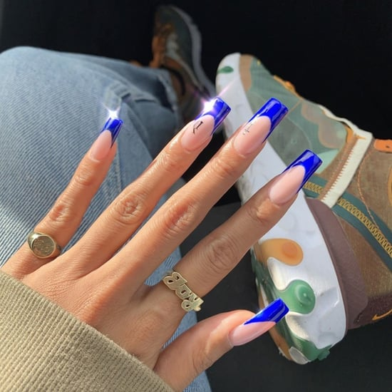 Deep-Arched French Manicure Nail Art Trend 2019
