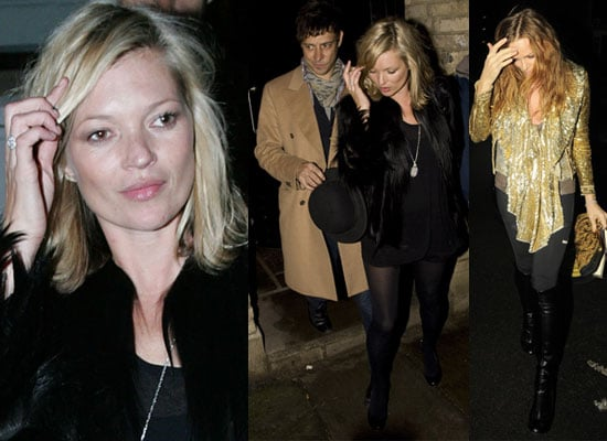 Photos of Kate Moss at Her 35th Birthday Party