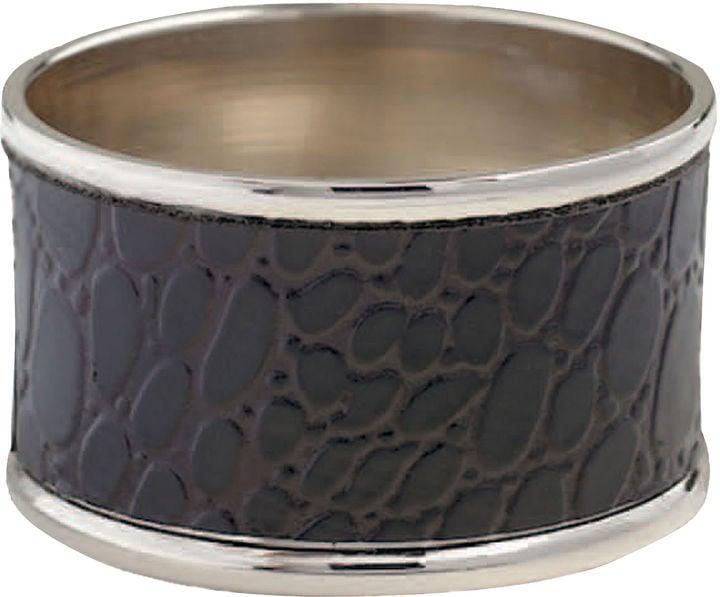 Crocodile Napkin Rings ($40)