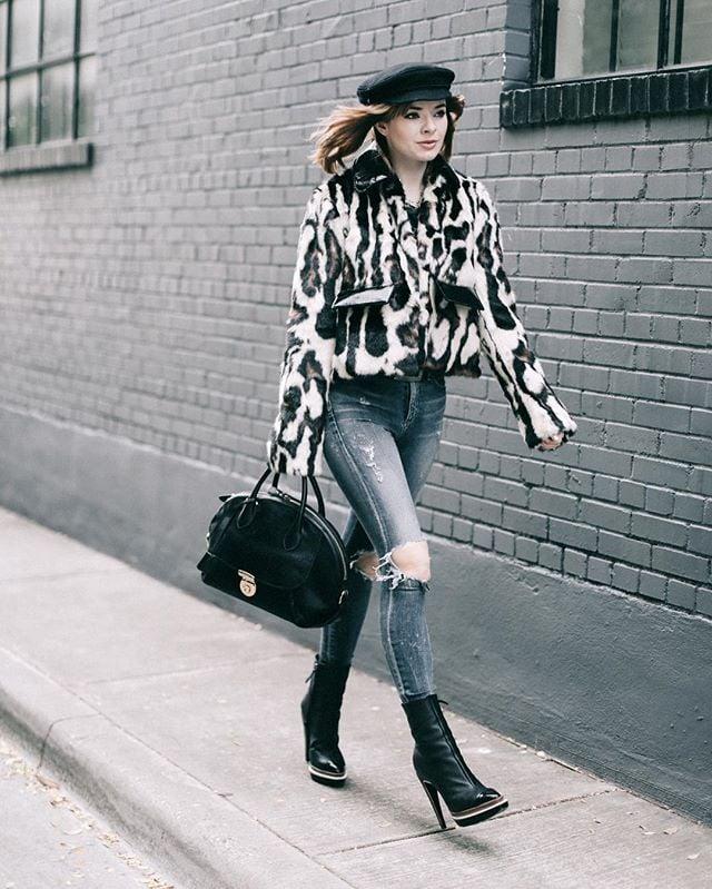 83f2fd1779a What to Wear For a Night Out When It's Cold   POPSUGAR Fashion
