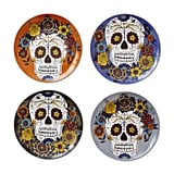 Day of the Dead Salad Plate Set of 4