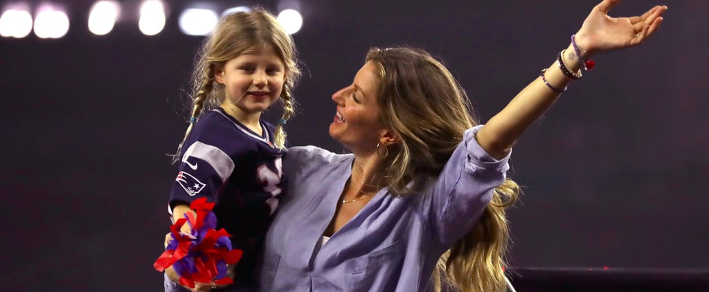 Tom Brady's Ladies Were Front and Center For His Fifth Super Bowl Win