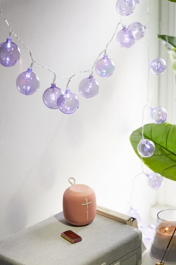 Iridescent Globe String Lights