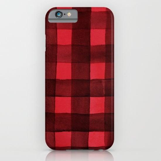 Buffalo Plaid iPhone Case ($35)