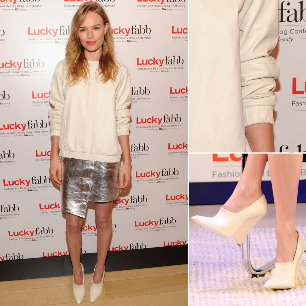 Kate Bosworth Wearing Her Topshop Collection