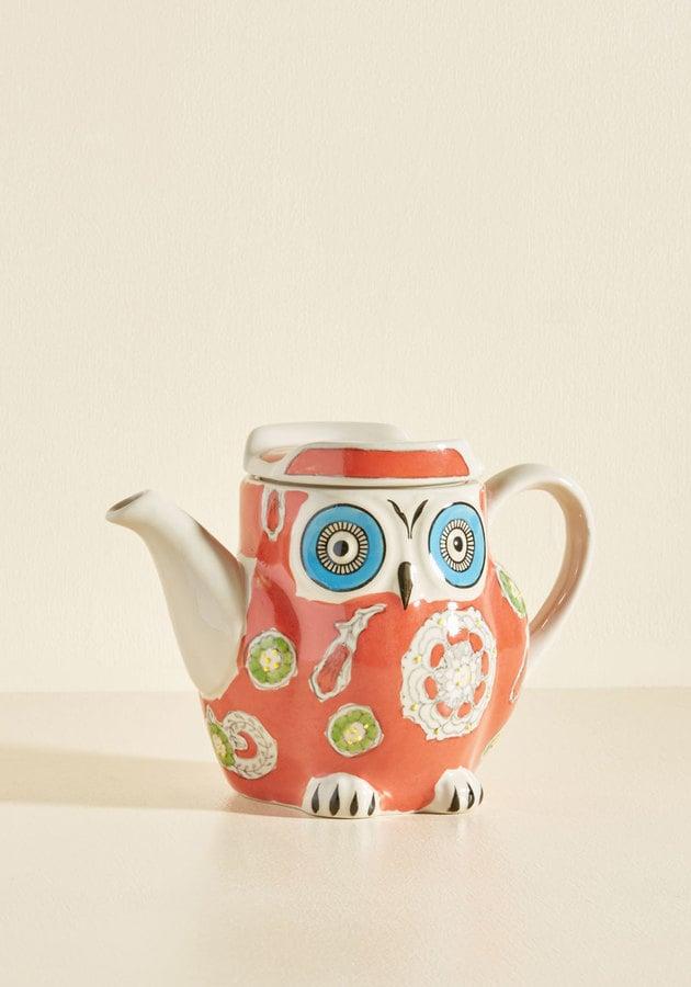 Hoot's Invited? Tea Pot