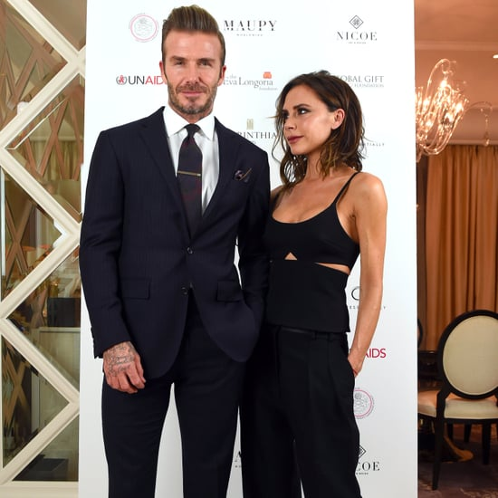David Beckham Talks Vow Renewal With Victoria Jan. 2017