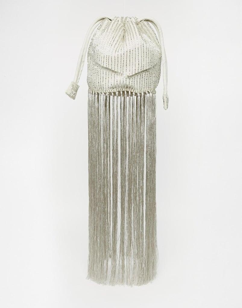 Asos Bridal Embellished Duffle Bag With Tassel ($64)