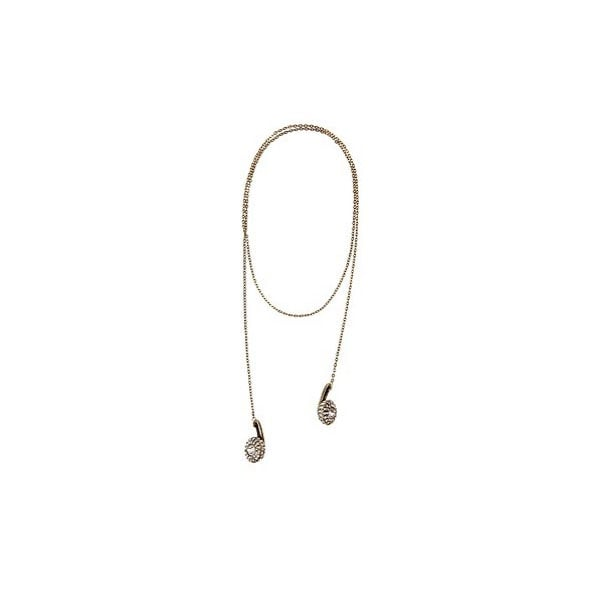 Pave Headphone Necklace ($24)