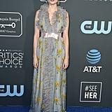 Lucy Boynton at the 2019 Critics' Choice Awards