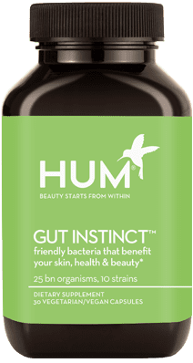For digestion, Stephanie tried HUM Nutrition Gut Instinct