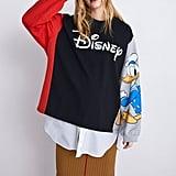 Zara Disney Donald Duck Sweatshirt