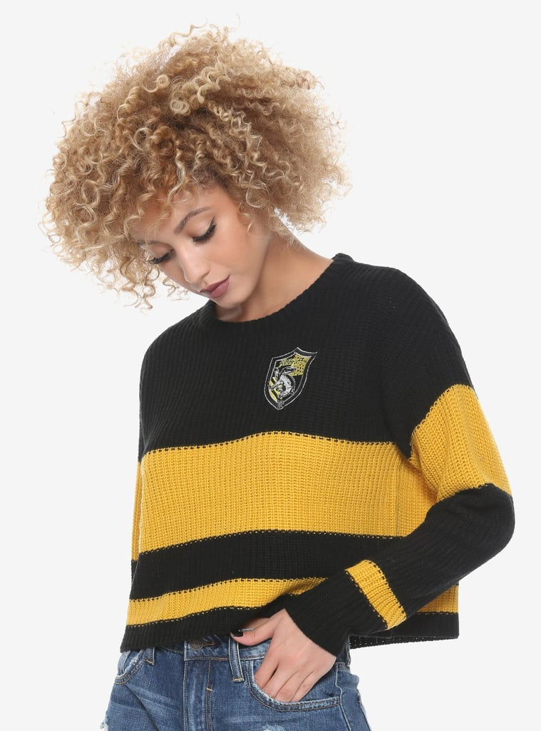 Harry Potter Hufflepuff Quidditch Sweater