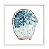 Minted Crystalized Geode Art Print ($85)