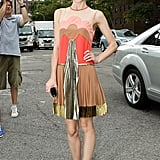 Jaime King was snapped outside Lincoln Center.