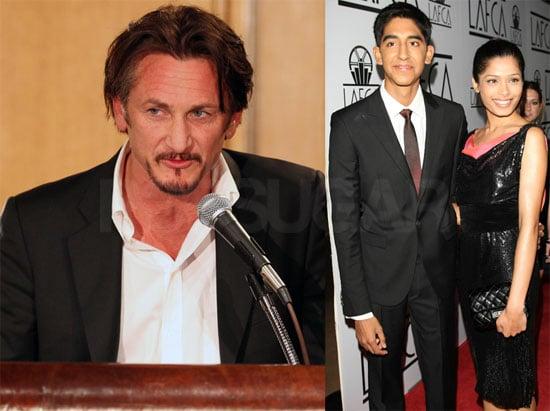 Photos of Sean Penn, Freida Pinto, Dev Patel, Sally Hawkins at LA Film Critics Association Awards