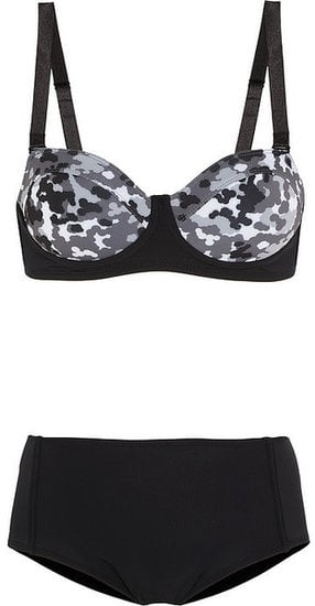 Camo at the beach? This Beth Richards Brigitte camo-print underwired bikini ($260) makes it possible with a cool-girl upgrade on a classic silhouette.