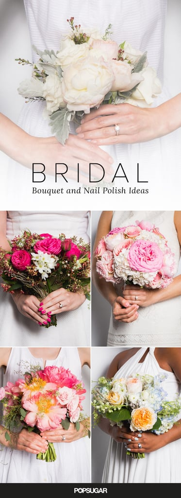 Bridal Nail Polish and Bouquet Ideas | POPSUGAR Beauty Middle East