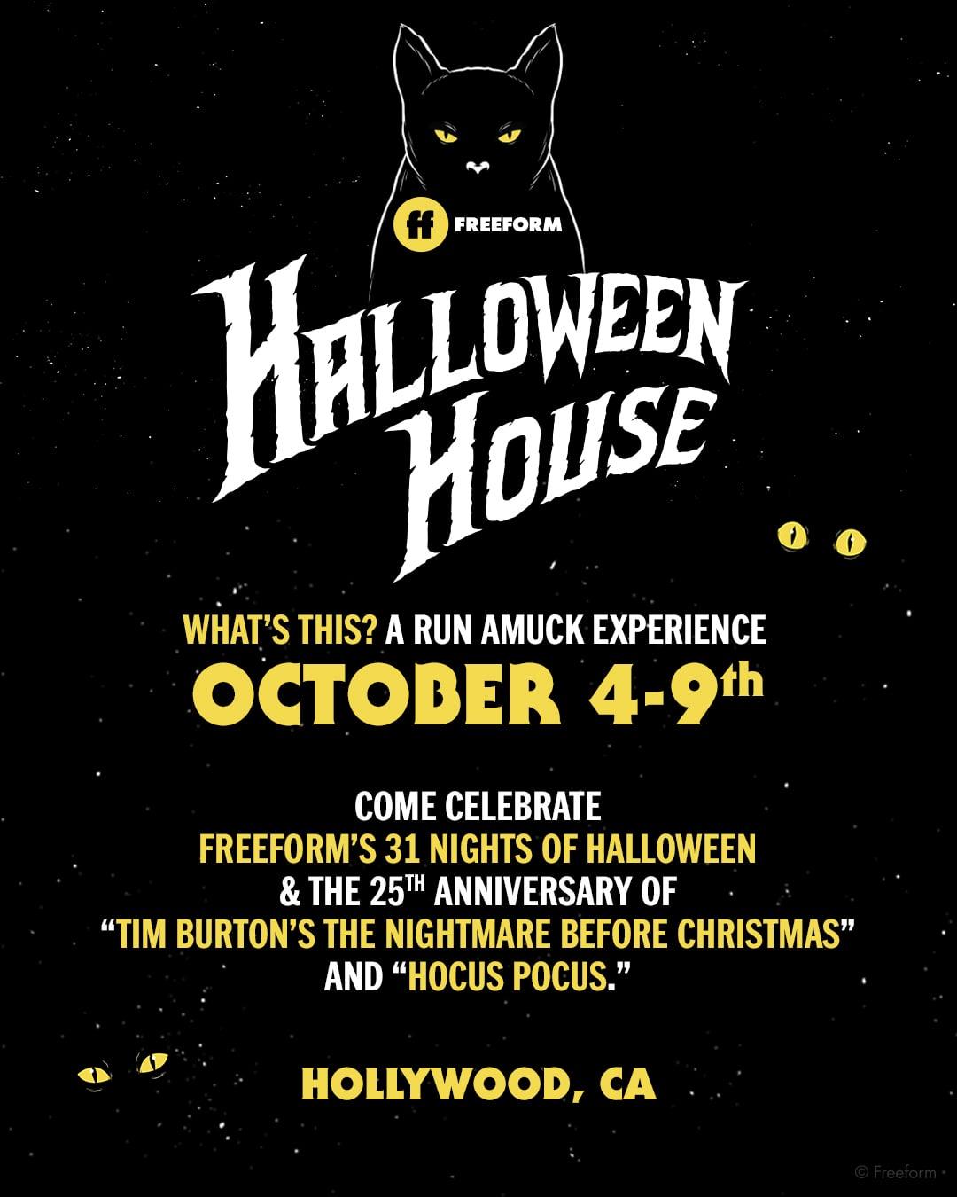 Freeform Halloween House 2018 | POPSUGAR Entertainment