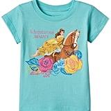 "Disney Beauty & The Beast Belle Toddler Girl ""Adventurous Beauty"" Tee ($11, originally $18)"