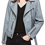 ALLSAINTS Balfern Lambskin Leather Biker Jacket