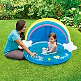 Summer Waves Round Inflatable Rainbow Baby Pool