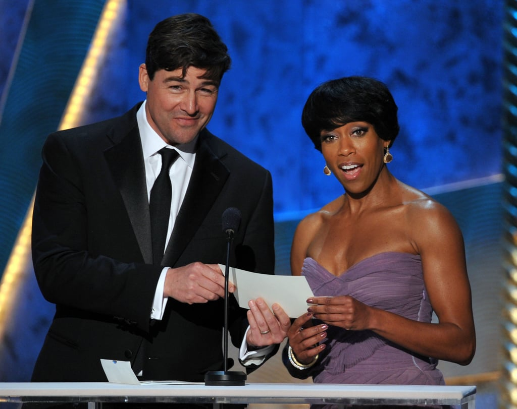 Kyle Chandler and Regina King