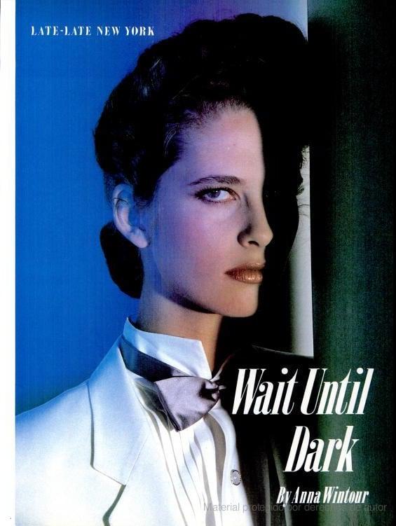 May 1982: Wait Until Dark