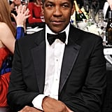Denzel Washington checked out the show.