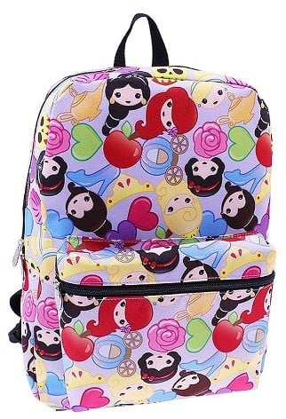 Princess Disney Emoji Backpack