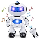 For 7-Year-Olds: Intelligent Walking Dancing Futuristic Robot STEM Toy w/ Music, Lights