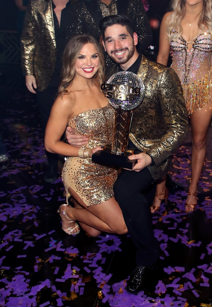 Hannah Brown came to win on Dancing With the Stars season 28. On Monday night, the former Bachelorette took home the Mirrorball Trophy for the season. Though she made quite an impression with her incredible performances, fans loved the chemistry between her and her partner, Alan Bersten. Can you blame them? They clearly make an incredible team!  While Hannah has already made it clear that they're just friends, that hasn't stopped everyone from fawning over their onscreen partnership. Whether they're doing a romantic waltz together on the ballroom floor or posing for pictures together backstage, it's clear they share a special bond. Look back at some of their cutest (and purely platonic) moments together on the show ahead.       Related:                                                                                                           Dancing With the Stars Season 28: Find Out Who the Final Three Are