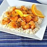 Stir-Fried Shrimp With Spicy Orange Sauce