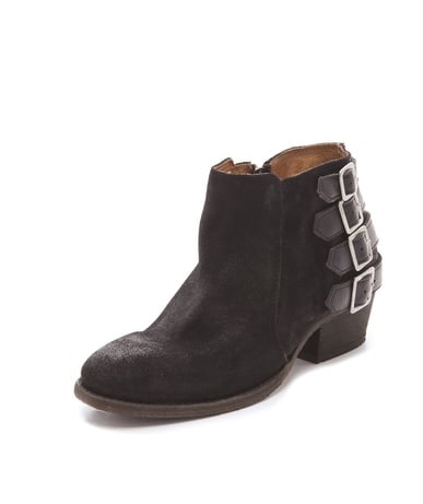 With edgy buckle detailing at the back, these H by Hudson Encke Buckle Booties ($275) would be the perfect cool-girl accent to jeans and a t-shirt.