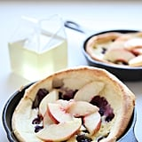 Blueberry Nectarine Dutch Babies