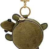 Tory Burch Turtle Coin Pouch Key Chain